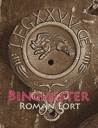 Binchester Roman Fort Excavation logo.  © 2009 Binchester Roman Fort Excavation and Durham University.
