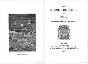 Les ruines de Paris en 4875, documents officiels et inédits  By Alfred Franklin